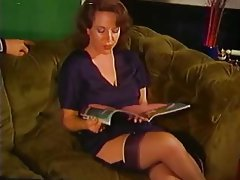 Cumshot MILF Old and Young Stockings Vintage