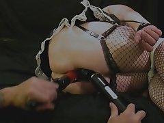 Hardcore Squirt Bondage Maid