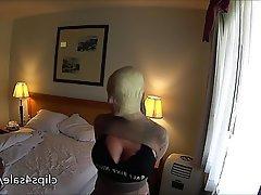Amateur Blonde Bondage Nylon