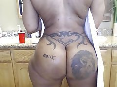 BBW Big Butts Shower Webcam Big Booty
