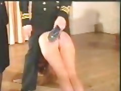 Close Up Vintage BDSM Spanking