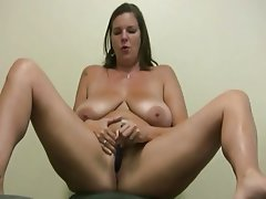 BBW Big Butts Dildo Solo