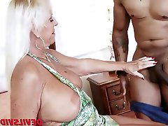 Granny Hardcore Interracial Black