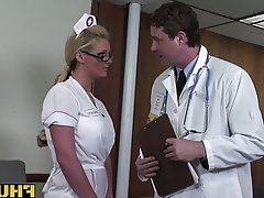 Anal Blonde Blowjob Doctor