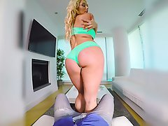 Big Butts Blonde Mistress Party