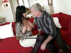 Granny Hardcore Interracial