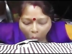 Indian Blowjob Cheating Cum in mouth