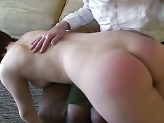 BDSM Femdom Old and Young Spanking