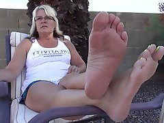 Amateur Foot Fetish Mature MILF Mature