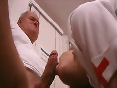 Hardcore Old and Young Nurse