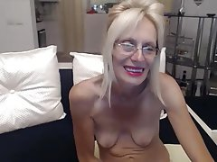 Amateur Granny Masturbation Saggy Tits Webcam