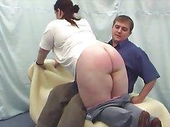 BBW Big Butts Casting Spanking
