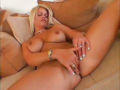 Babe Blonde Masturbation Pussy