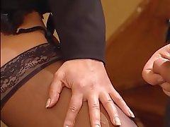 Cumshot Lingerie Nylon Pornstar Stockings