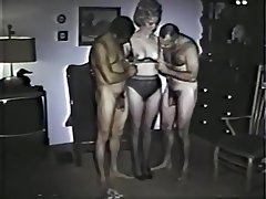 Hairy Vintage Threesome
