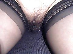 Nylon Pussy Stockings