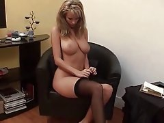 Babe Blonde POV Softcore Stockings