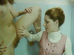 German Hairy Lesbian Masturbation