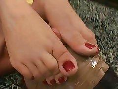 Brazil Face Sitting Femdom Foot Fetish Lesbian