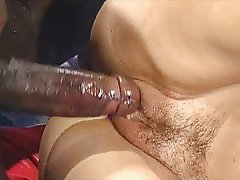 Blonde Cumshot German Interracial