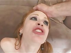 Anal Double Penetration Hardcore Redhead
