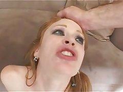 Anal Double Penetration Hardcore Redhead