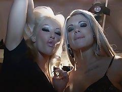 BDSM Blonde Femdom German POV