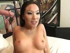 Asian Big Boobs Blowjob Brunette Face Sitting
