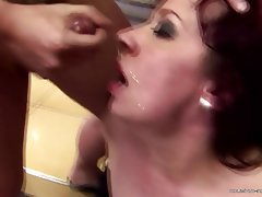 Ass Licking Group Sex Granny Mature Old and Young