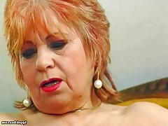 BBW Granny Masturbation Mature Saggy Tits
