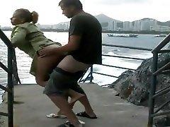 Amateur Big Butts Outdoor
