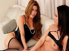 Kissing Lesbian Masturbation Small Tits
