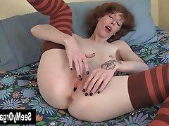 Amateur Fisting Masturbation Redhead Softcore