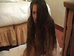 Cum in mouth Masturbation MILF