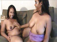 Arab Interracial Lesbian