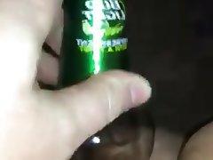 Amateur Mature Redhead Bottle