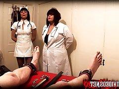 BDSM Double Penetration Medical Mistress