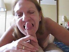 Blowjob Mature POV Granny