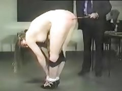 Vintage BDSM Spanking Teacher
