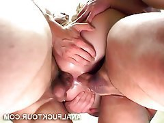 Anal Big Cock Threesome Double Penetration