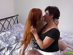 Compilation Granny Lesbian Mature Old and Young