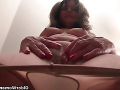 Mature MILF Nylon Mature