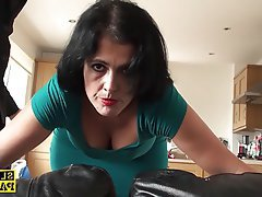 Rough Anal BDSM British Facial