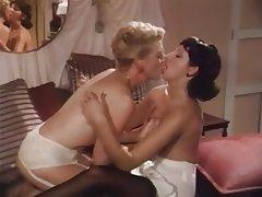 High Heels Lesbian Pantyhose Threesome