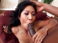 Asian Babe Big Black Cock Big Cock