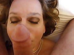 Cumshot Facial Cum in mouth