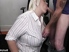 BBW Big Boobs Big Butts Office