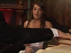 Wedding British Threesome Cum in mouth