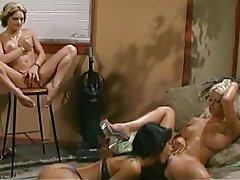 Blonde Brunette Lesbian Masturbation