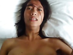 Homemade Asian POV Creampie
